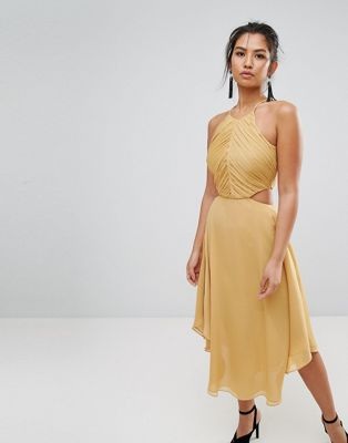 Keepsake Elevate Cut Out Midi Dress