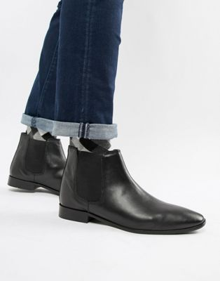KG by Kurt Geiger - Bottines Chelsea en cuir