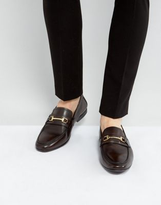 Image 1 of KG By Kurt Geiger Melton Loafers In Brown Leather