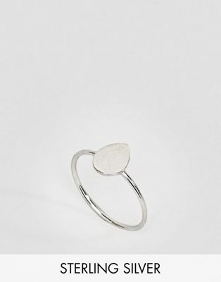 Kingsley Ryan Sterling Silver Teardrop Ring