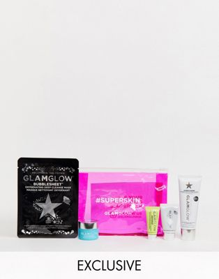 Kit Necesersuperskin Little Of Asos Un Exclusivo En De Bag Sexy Con GlamglowAhorra 33 ZXkiuOP