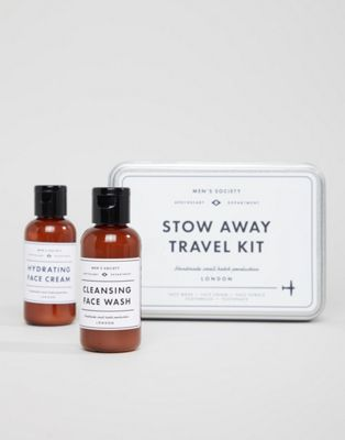 Kit de supervivencia para viajes de Men's Society