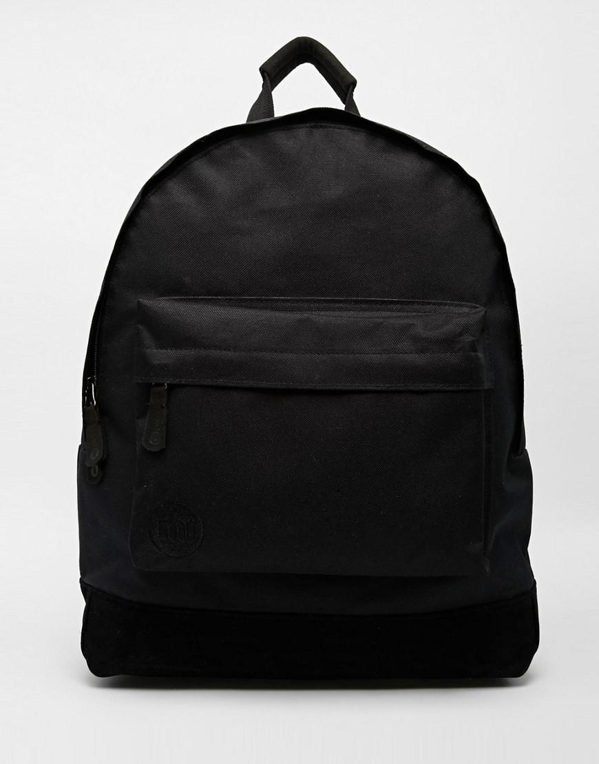 Классический черный рюкзак Mi-Pac