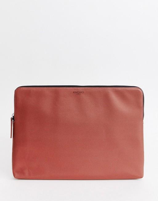 Image 1 of Knomo london embossed laptop case