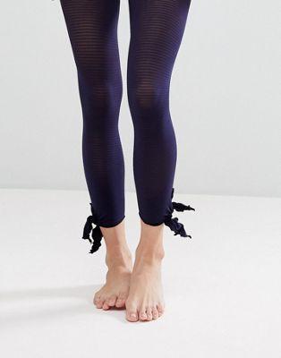 Колготки без носков с завязками по бокам Gipsy
