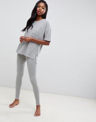 Комплект одежды для дома в рубчик Boux Avenue