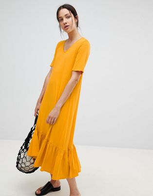 Kowtow Building Block Midaxi Dress
