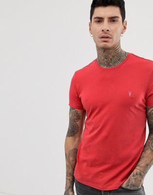 Изображение 1 из Красная выбеленная футболка AllSaints
