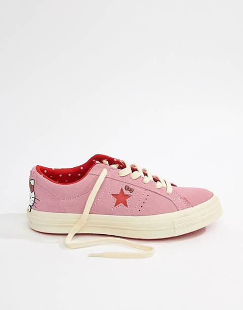 Кроссовки Converse X Hello Kitty One Star