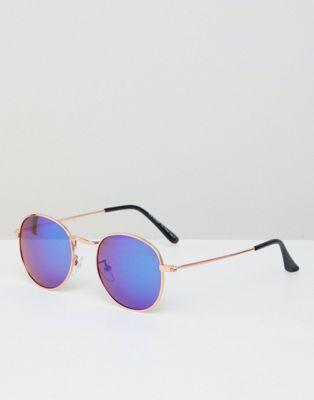 Круглые солнцезащитные очки AJ Morgan