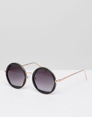 Круглые солнцезащитные очки New Look