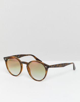 Круглые  солнцезащитные  очки Ray-Ban 0RB2180