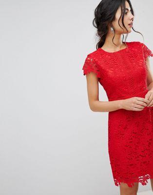 Кружевное платье миди Forever New