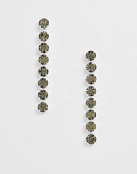 Krystal London Swarovski Crystal drop earrings