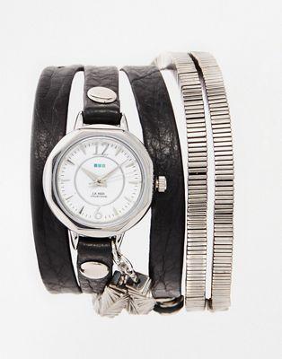 Image 1 of La Mer Highline Chrome Wrap Watch