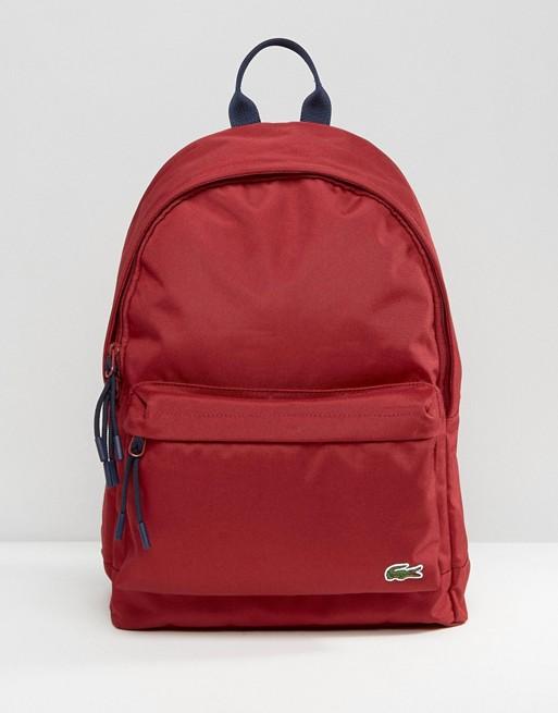 Bardzo dobryFantastyczny Lacoste Backpack In Red | ASOS YR83