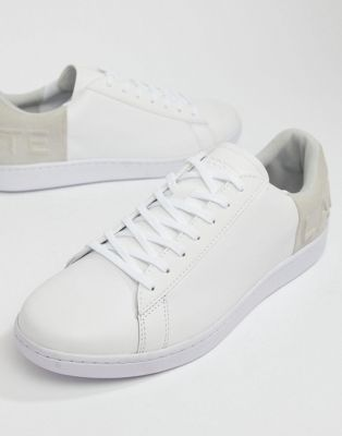 Lacoste Carnaby Evo 318 6 sneakers in white with gray