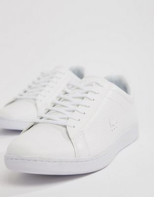 Lacoste Carnaby Evo 318 7 sneakers in all white
