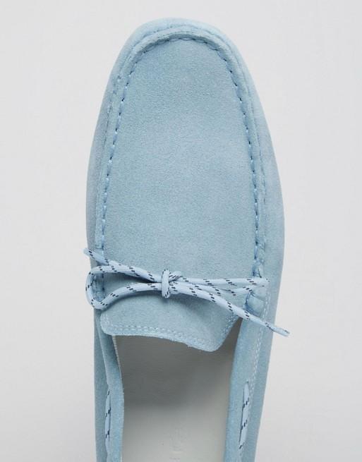 41d076d6ca80ef Lacoste Concours Lace Suede Driving Shoes
