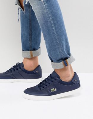 Lacoste Court Master Sneakers In Navy