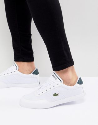 Lacoste Court Master sneakers in white