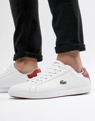 Lacoste Graduate Sneakers In White