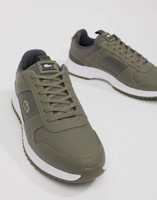 Lacoste Joggeur 2.0 318 1 runner sneakers in khaki