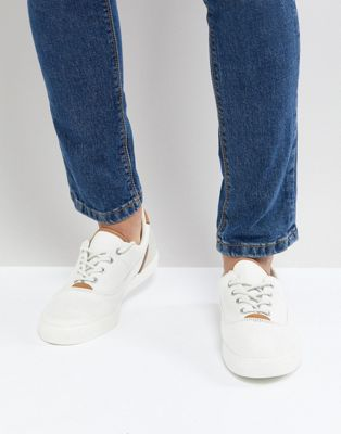 Lacoste Jouer Lace Up Sneakers In White