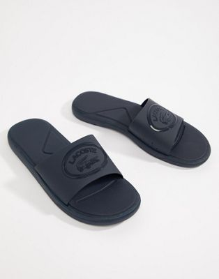Lacoste L.30 Sliders In Navy