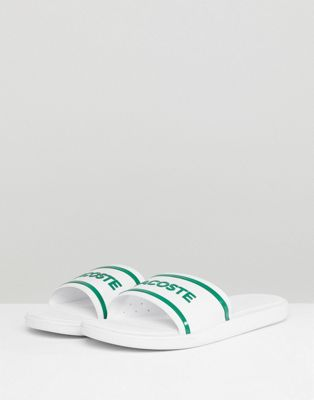 Lacoste L.30 Slides In White