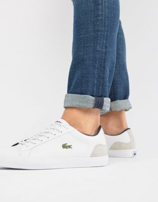 Lacoste Lerond 318 3 sneakers in white leather
