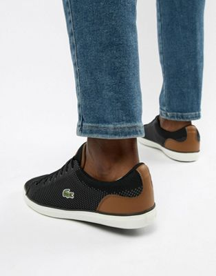 Lacoste Lerond BL 1 sneakers in black