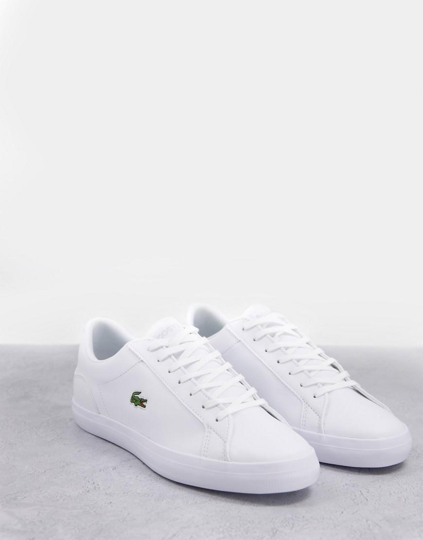 Lacoste - Lerond BL2 - Sneakers i hvid læder