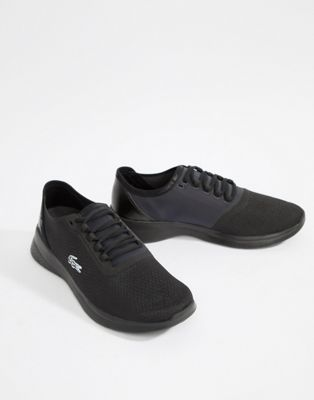 Lacoste LT Fit 318 1 runner sneakers in black