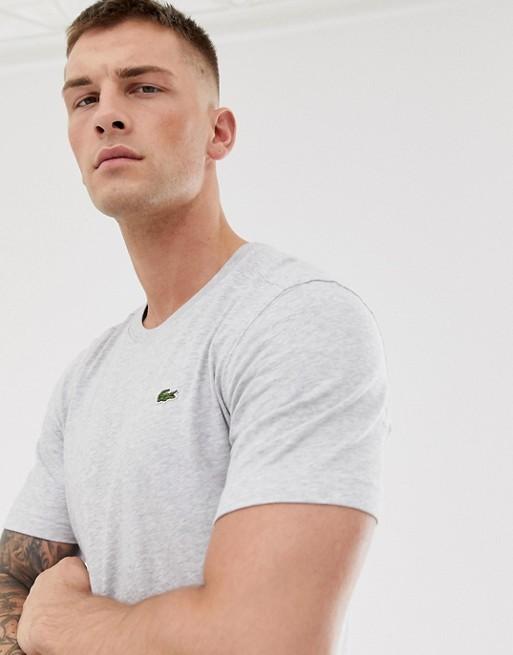 Bild 1 von Lacoste Sport – Graues T-Shirt mit kleinem Logo