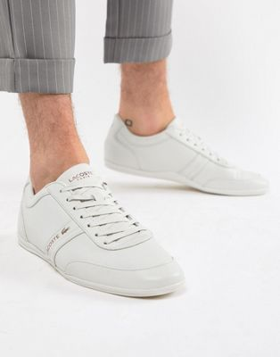 Lacoste Stroda 318 3 premium sneakers in white