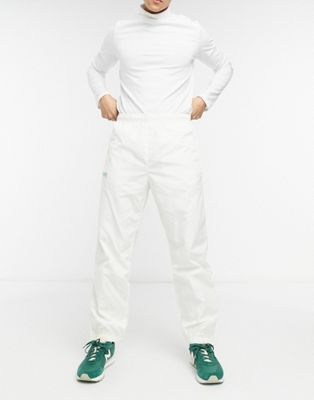Lacoste elastic waistband trackpants - ASOS Price Checker