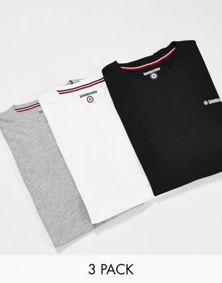 Lambretta 3 pack lounge t-shirt