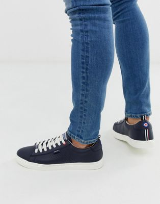 Lambretta classic trainers in navy