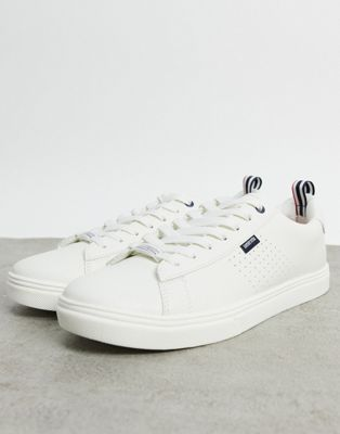 Lambretta classic trainers in white