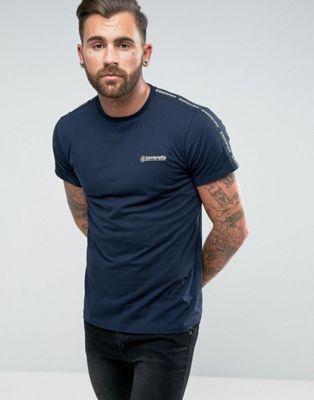 Lambretta - T-shirt con maniche strette in fondo