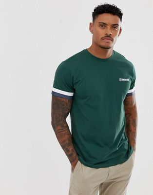 Lambretta taped arm t-shirt