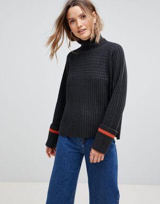 Lavand Oversize Rib Sweater