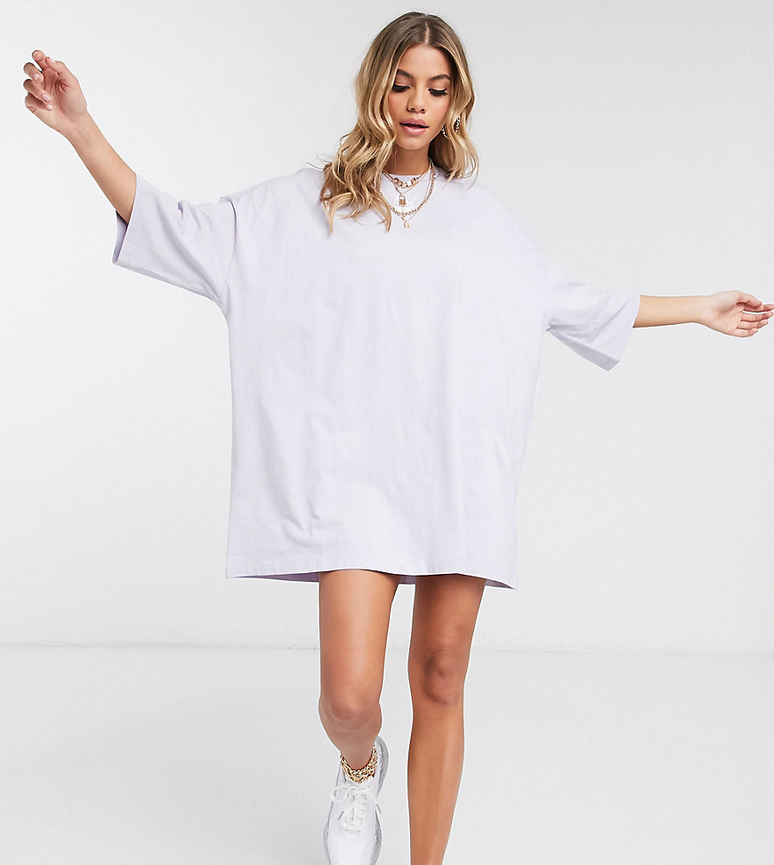 Лавандовое платье-футболка Puma эксклюзивно для ASOS-Фиолетовый