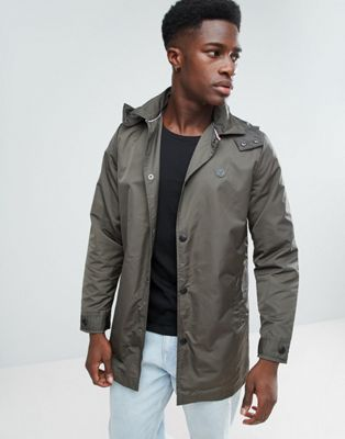 Image 1 of Le Breve Hooded Trench Trench