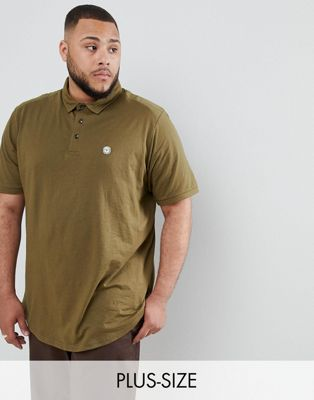 Image 1 of Le Breve PLUS Curved Hem Polo with Back Panelling