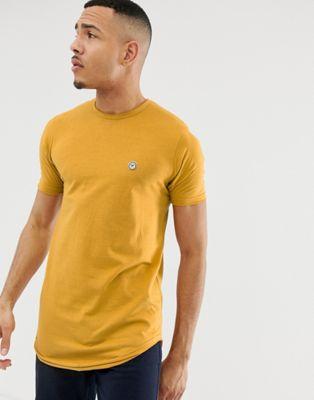 Le Breve Tall – Lang geschnittenes Shirt mit unversäuberten Kanten