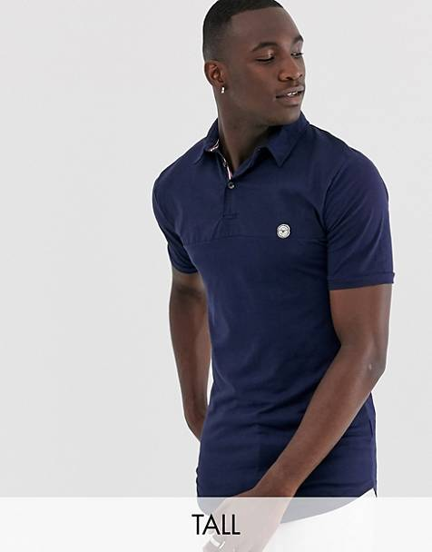 Le Breve Tall slim fit polo shirt