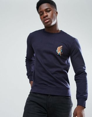 Image 1 of Le Breve Tiger Sweatshirt