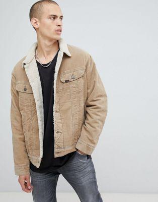 Lee cord borg jacket